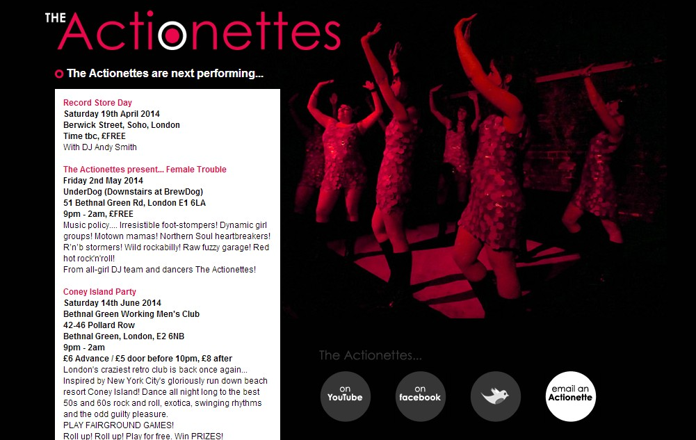 Design for Actionettes