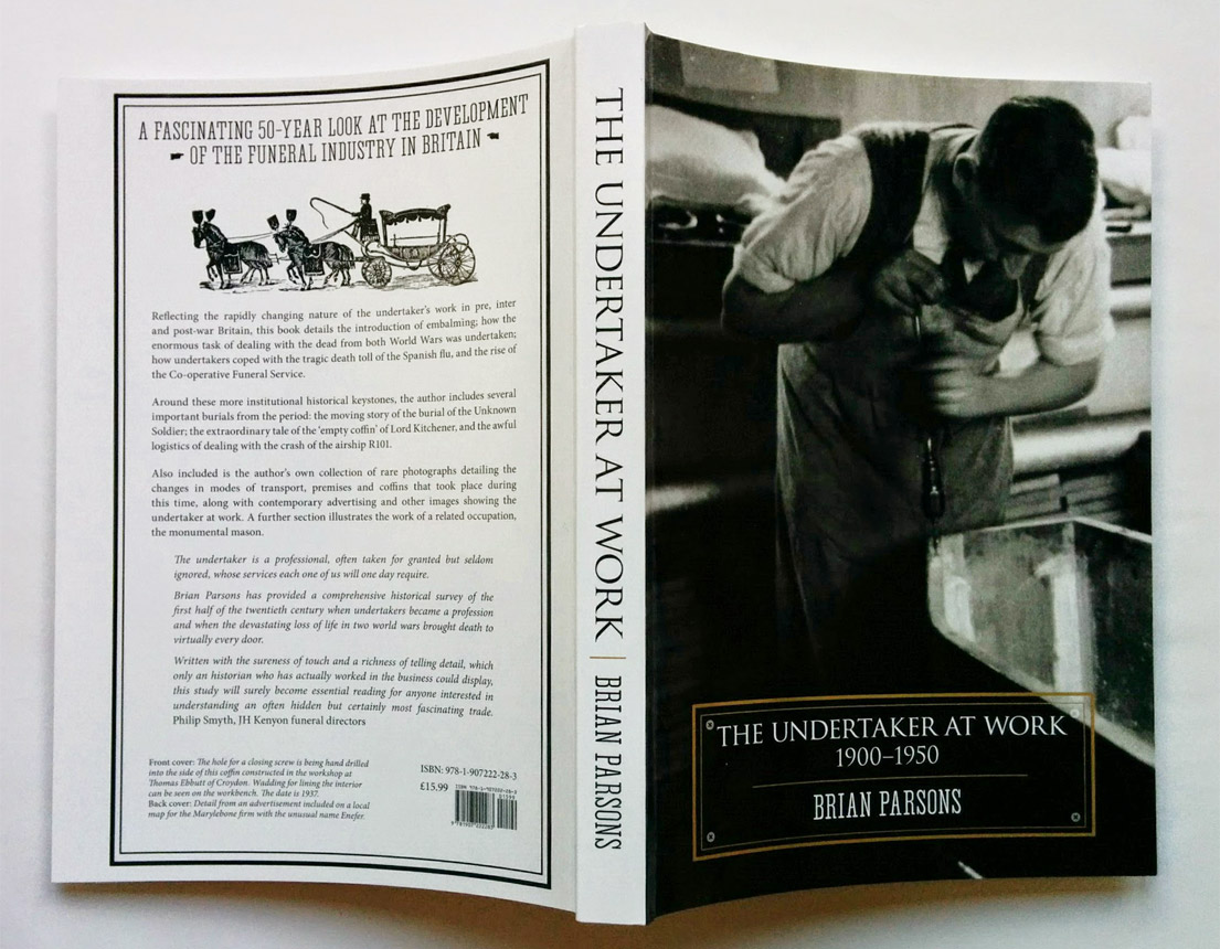 The Undertaker at Work; cover